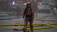 Photos: 2 Ore. firefighters hurt in three-alarm blaze