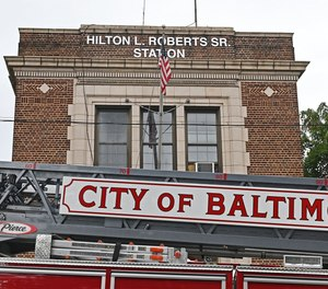 Baltimore City Fire Department renamed Engine Company 52 firehouse to Hilton L. Roberts Sr. Station in honor of one of the first Black firefighters to graduate and enter service in 1954.
