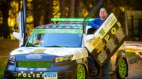 Conn. man's car is a mobile tribute to fallen police officers