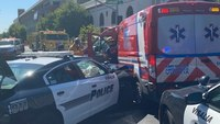 Calif. woman steals rig, pursued by police, crashes into 2nd rig
