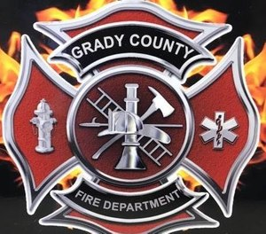 Jeffrey Blaine worked with the Grady County Fire Department out of the Acme Station. (Photo/Grady County Fire Department)