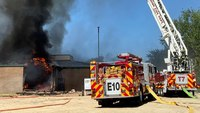 6 Idaho FFs treated for heat-related injuries after fire at vacant school