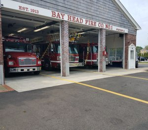 Bay Head Fire Company No. 1 Firefighter Dave Clark, 47, who previously served as chief engineer at the volunteer company, died on Saturday due to COVID-19. (Photo/Bay Head Fire Company No. 1 Facebook)