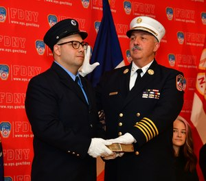 Fire CommissionerDaniel NigroappointedJohn Hodgens, a 35-year veteran of theFDNYwith roots onStaten Island, as chief of fire operations.Thomas Richardson, with 40 years on the job, was named chief of department, the highest-ranking uniformed position.