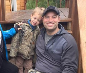 Anchorage firefighter Ben Schultz, who is now recovering at a rehabilitation center in Omaha, said he doesn't remember the June incident that left him in a coma. (Photo/GoFundMe)
