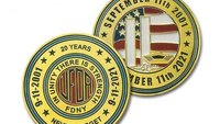 FDNY commemorative coins honor lives lost on 9/11