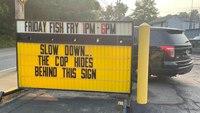 'Joke's on us': Police respond to deli's warning sign in good-humored exchange