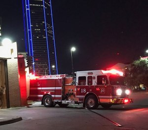 Bank of America Building in Dallas, Texas. (Photo/National Fallen Firefighters Foundation via Firehouse 18)