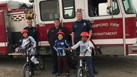 Firefighters' passion for BMX racing inspires community event