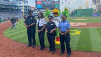 Photo of the Week: Pittsburgh Pirates honor public safety members