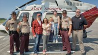 State troopers' 'blood run' saves life of mother after dangerous birth