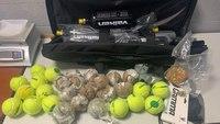 Police: Drug-filled tennis balls were on their way to S.C. prison