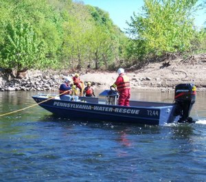 Pennsylvania Water Rescue volunteers have been saving people from the Delaware and Lehigh rivers for nearly 40 years. The group will need to find a new location by June 30 in order to continue operations. (Photo/Pennsylvania Water Rescue Facebook)