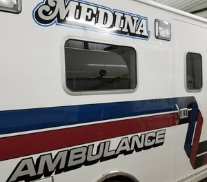 Medina Ambulance has been dispatched between 60 and 75 times per year over the past four years. (Photo/Medina Ambulance Service)