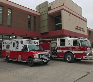 Moline Fire Department officials have expressed concern about restocking PPE as the COVID-19 pandemic continues in the Quad-Cities.