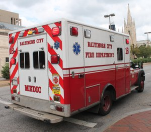 The city of Baltimore is offering a stipend of $200 biweekly to first responders working on the front lines of the COVID-19 pandemic. (Photo/Elvert Barnes, Flickr Creative Commons, CC BY-SA 2.0)