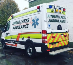 After adding a new ambulance at the beginning of the year, response times for calls in the City of Geneva were down a total of one minute and four seconds from last year. (Photo/Finger Lakes Ambulance)