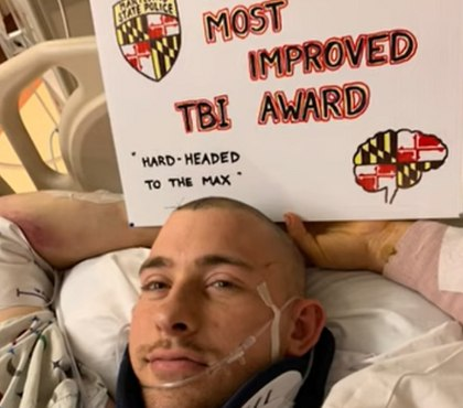 Md. LEO survives traumatic brain injury, hopes to return to duty
