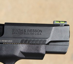 A longer sight radius on the 2.0 Shield means more accuracy at distance. (Photo/Warren Wilson)