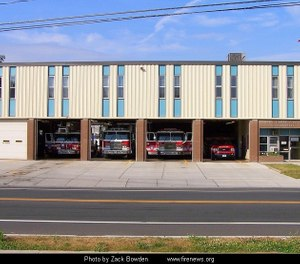 The New Britain Fire Department will spend $30,000 to install fire alarm systems at four of the oldest firehouses. (Photo/City of New Britain Fire Department)
