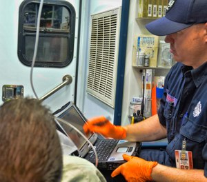 The nonprofit network will enable data-informed emergency care in the field, real-time notification to hospitals of incoming patients, and seamless data transfer between electronic patient care records and hospital electronic health records. (Photo/First Responder Network Authority)