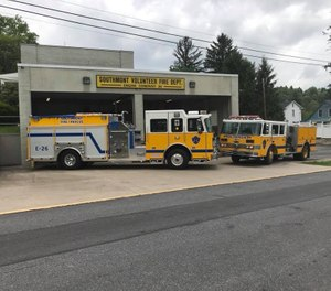 Current and former volunteer firefighters in Southmont Borough are now eligible for a tax credit that offsets 20% of their real estate tax bill. (Photo/Southmont Volunteer Fire Company Facebook)