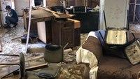 Hurricane Florence destroys volunteer EMS station