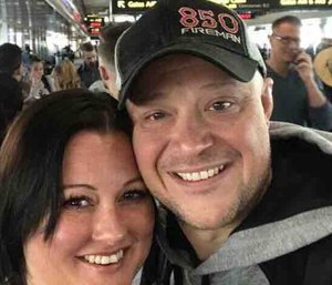 Lt. Jason Oliver is returning home after contacting a congressman to help him leave a Mexican hospital. (Photo/GoFundMe)