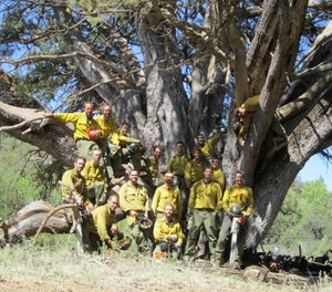 A virtual memorial ceremony will be available to view online Tuesday afternoon on the seventh anniversary of the Yarnell Hill Fire that killed 19 members of the Granite Mountain Interagency Hotshot Crew in 2013. (Photo/Granite Mountain Interagency Hotshot Crew Learning and Tribute Center Facebook)