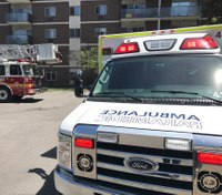 Canadian ambulance service changes flashing lights