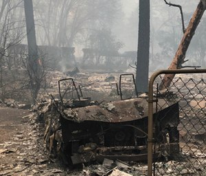 A fundraiser was launched to raise money for EMS providers and their families who lost everything in a wildfire.