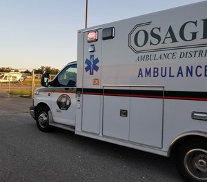 The Osage County 911 center delivers dispatching services to cover seven fire departments, two police departments, the sheriff's office and four ambulance districts.