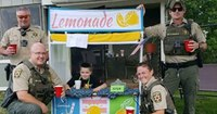 Police, other responders support boy's lemonade stand after man complains