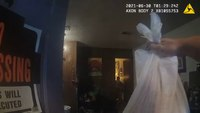 Video: Officer finishes DoorDash delivery after company driver is arrested
