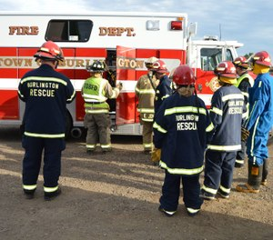 Facing dwindling numbers of volunteer emergency medical technicians and an increased number of calls, the two entities will work to combine operations. (Photo/Burlington Rescue Squad)