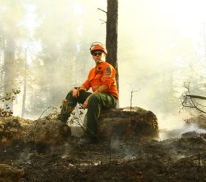 Adam Knauff is a crew leader with Ontario's Ministry of Natural Resources and Forestry. (Photo/ Adam Knauff)