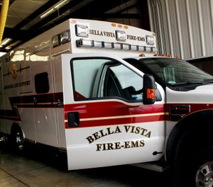 The Bella Vista Fire and EMS Department has equipped two ambulances with cerebral oximetry machines.  (Photo/Bella Vista Fire Department)