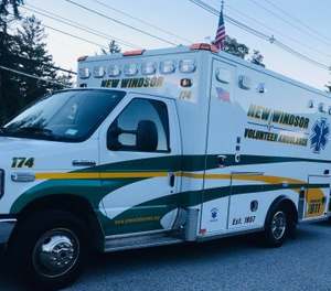 Both new ambulances purchased with assistance of former Senator Larkin and Senator Skoufis have been placed in-service. (Photo/New Windsor EMS)