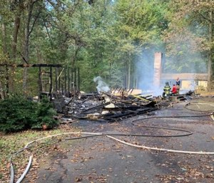 After the fire, the Monarch Fire Company set upa GoFundMe page for the family.(Photo/GoFundMe)