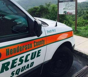 Two Rescue Squad EMTs were taking a patient to a facility when their ambulance was struck head on by a vehicle traveling at a high rate of speed, Public Information OfficerRhonda Chislaghisaid Thursday.