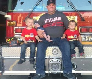 Brian Serdynski leaves behind his wife and three children under the age of 4. (Photo/GoFundMe)