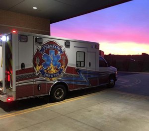 The City of Franklin Fire & EMS Department will be increasing its full-time firefighter-paramedics from six to 12 through a $1 million SAFER grant. (Photo/Kettering Health Center Franklin via The City of Franklin, Ohio Facebook)