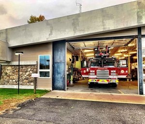 A $1.1 million South Portland Fire Department ladder truck has been declared a total loss after its electrical system was severely damaged during a training exercise. (Photo/SPFD)