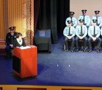 Police academy graduation speech: The hardest job you will ever love