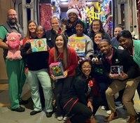 Photo of the Week: DeKalb AMR spreads joy on Christmas