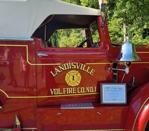 The hospitalized firefighter was a member of the Landisville Vol. Fire Company. (Photo/Landisville Vol. Fire Company)
