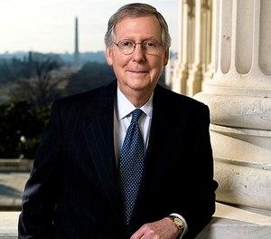 "U.S. Sen. Majority Leader Mitch McConnell said the money will ""help combat the opioid crisis that has afflicted many communities throughout Kentucky,"" (Photo/Wikimedia Commons)"