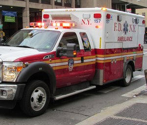 An FDNY EMT battling 9/11-related cancer was forced to retire because her sick leave ran out.