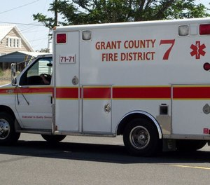 Grant County Fire District #7 is seeking to become a licensed transport agencies so patients with injuries that are not life-threatening can be taken to the hospital more quickly.