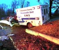 NC EMS provider hurt in ambulance crash after colleague falls asleep at wheel